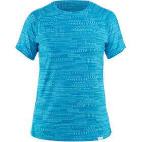 NRS H2Core Silkweight Kurzarm Shirt Damen cyan